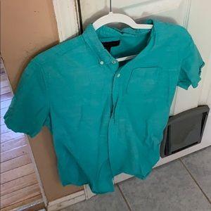 Men's Small Aeropostale Short Sleeve Button Down